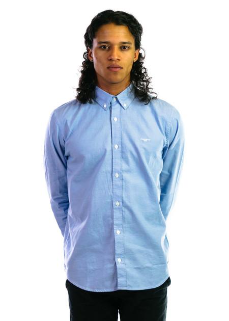 CARHARTT WIP LS Lancaster Shirt - Bleach/Wax