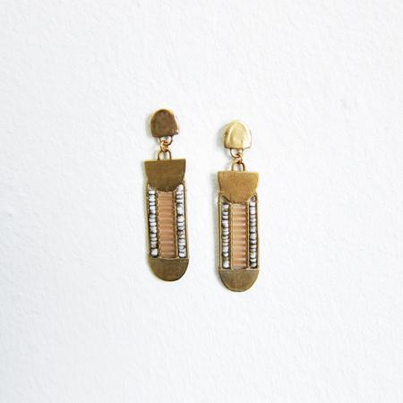 Alchemilla Relic earrings - desert