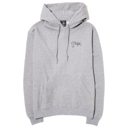 ALLTIMERS WATERCOLOR LOGO HOODY / GREY