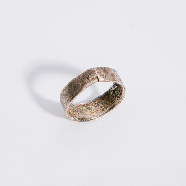 Alice Waese Silver Stitch Ring