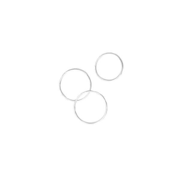 StillWithYou Simple Set of 3 Rings