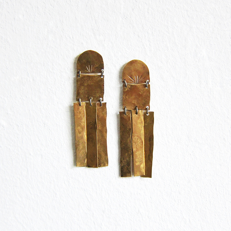 Alchemilla Moonshine earrings