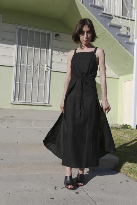 Shaina Mote Nile Dress in Onyx