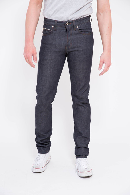 Naked and Famous Hemp Blend Selvedge Super Skinny Guy