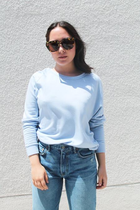 Stateside Dolman Sweatshirt in Sky