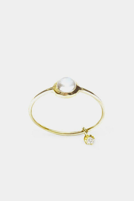 Sara Lasry Gold Round Toy Ring