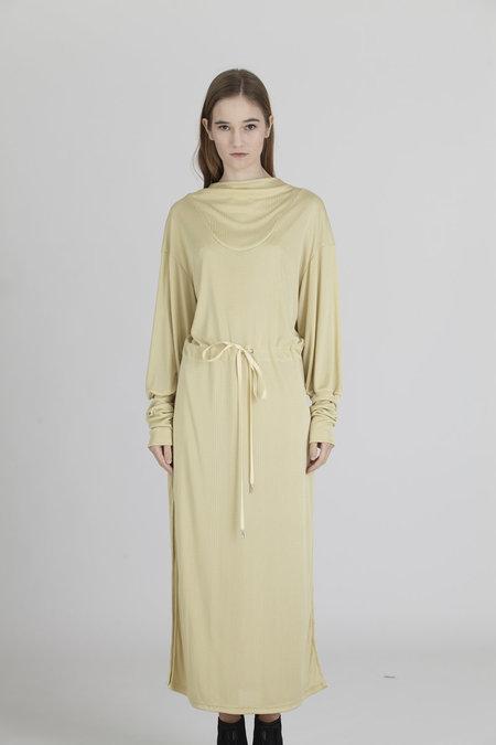 Urbanovitch Drawstring Side Slit Dress