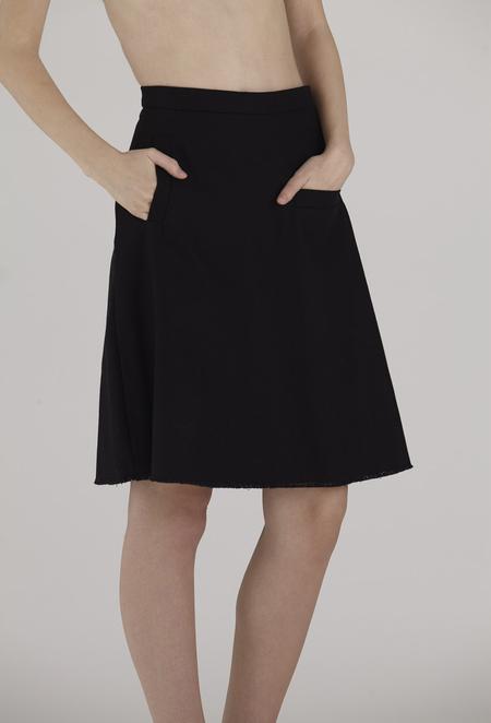 URBANOVITCH 2-Pocket Denim Skirt