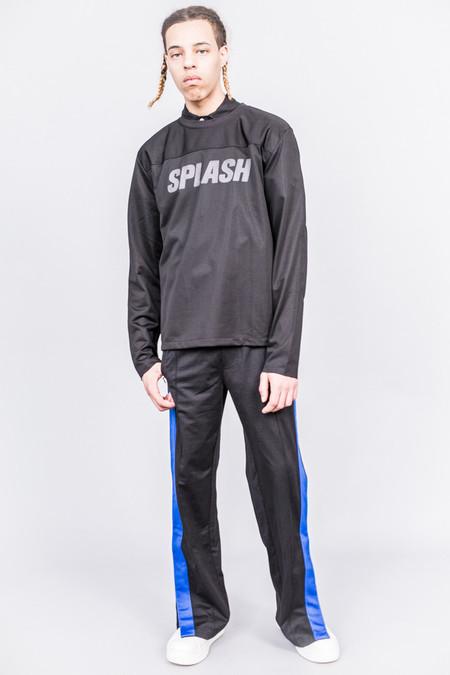 Our Legacy Moto Sweat Black Splash Print