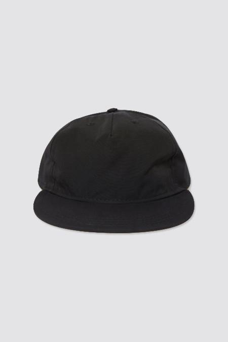 Paa Pleat Cap Black