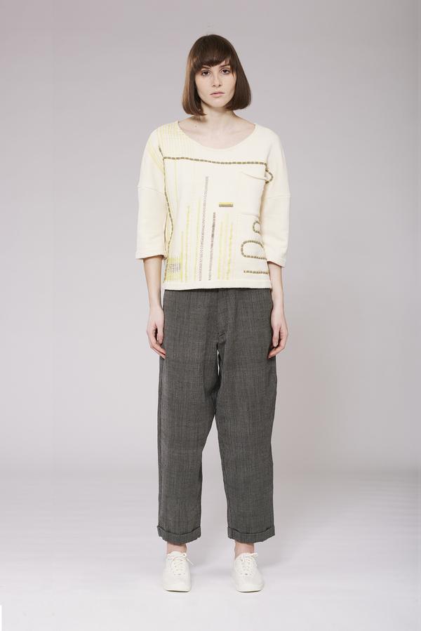 Study NY Conversations in Craft Sweatshirt