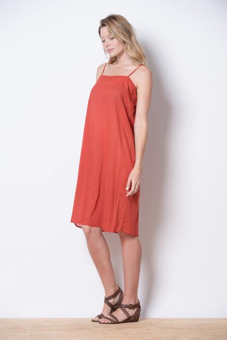 Manuelle Guibal Red slip dress