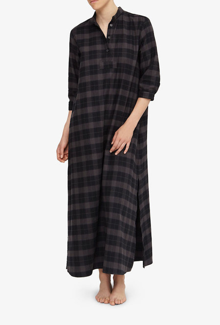 The Sleep Shirt Full Length Long Flannel
