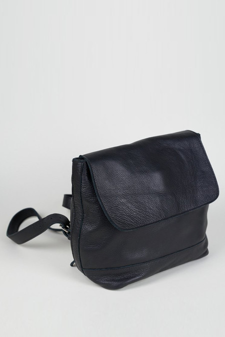 Clyde Small Leather Room Backpack