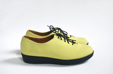 HOPP Essential Oxford - Chartreuse