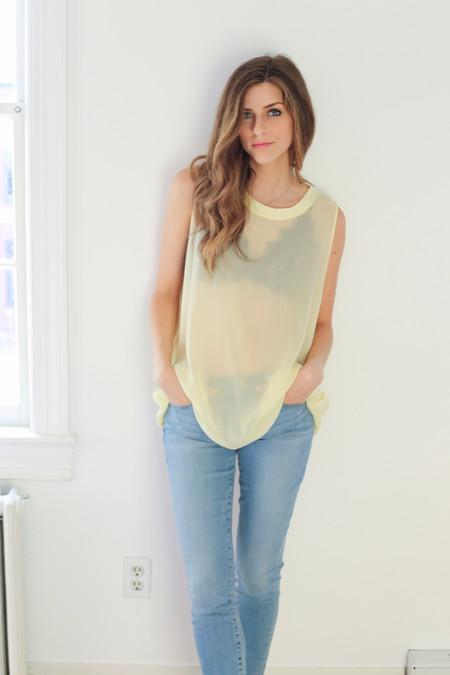 Lacausa Dad's Shirt - Honeysuckle