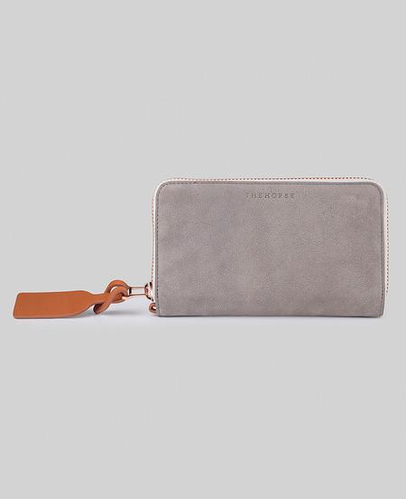 The Horse Block Wallet in Grey