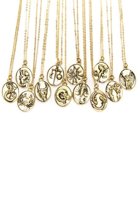 Talon Gold Libra Necklace