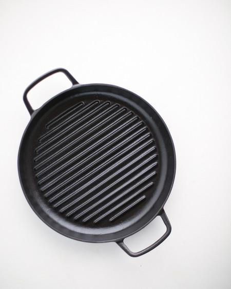 Crane Cookware Enameled Cast Iron Griddle Pan