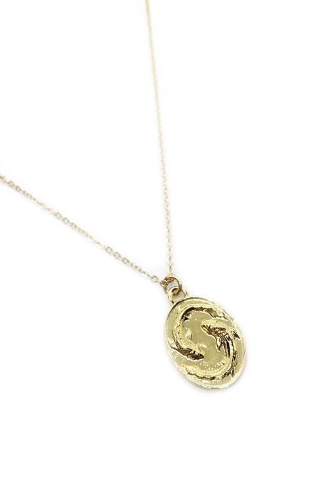 Talon Gold Pisces Necklace