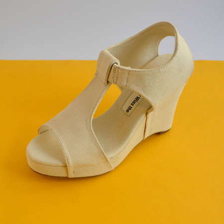 Slow and Steady Wins the Race Wedge Sandal in Natural | Size 35