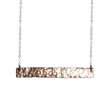 Strut Jewelry – Wide Bar Necklace