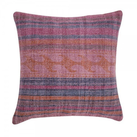 Filling Spaces Overdyed Jali Pillow - Bianca