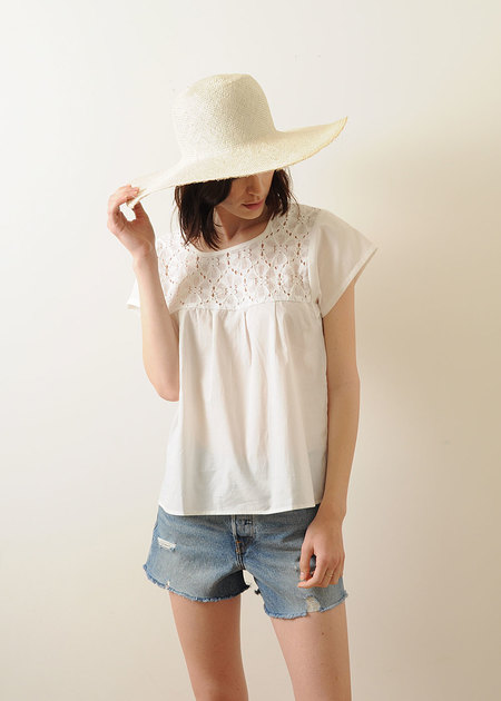 Conifer Peasant Top