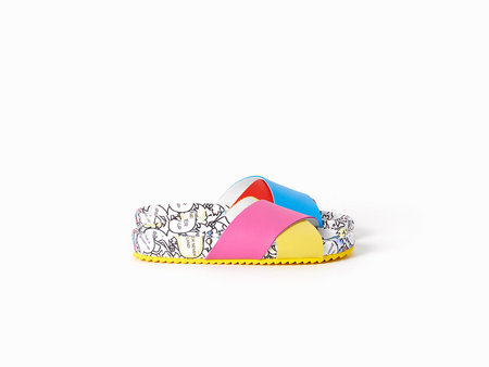 Mira Mikati Rainbow Monster Sandal