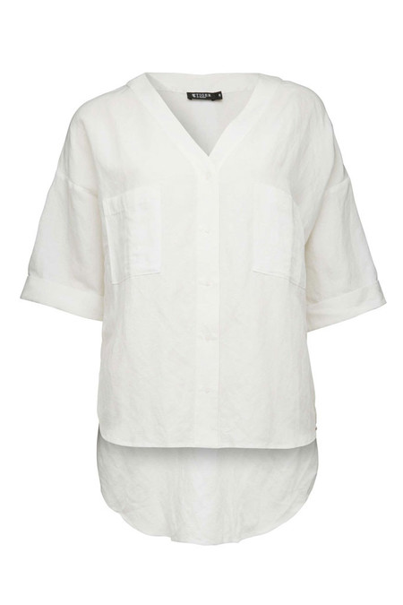Tiger of Sweden Lava Blouse | White