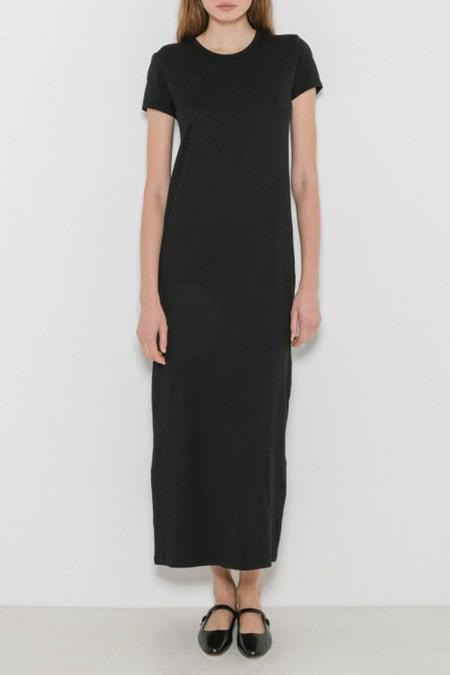 Baserange Tripoli Tee Dress | Black