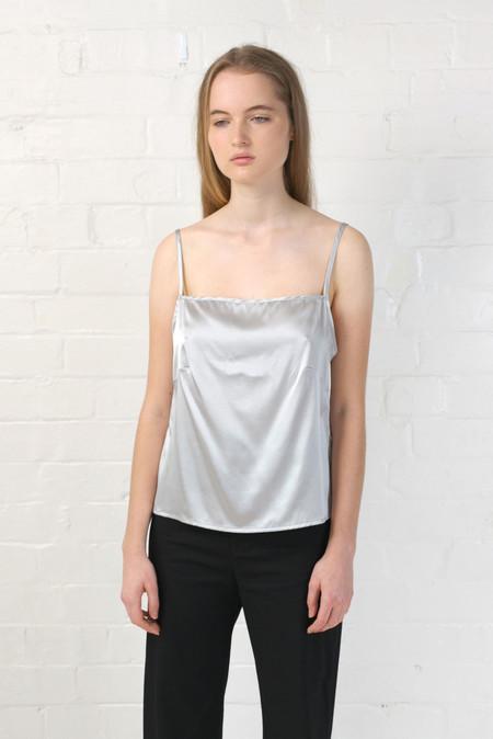Baserange Shankar Strap Top in Silver