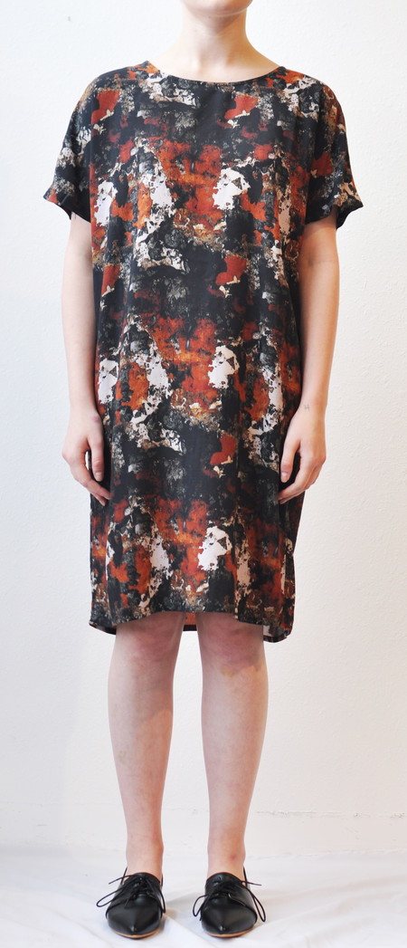 "Storm & Marie Storm and Marie ""Wall"" Printed Dress"