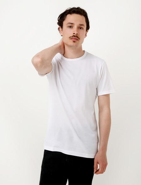 Sunspel Short Sleeve T-Shirt White
