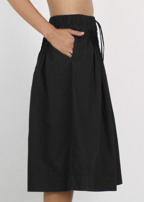 inflated shorts - black