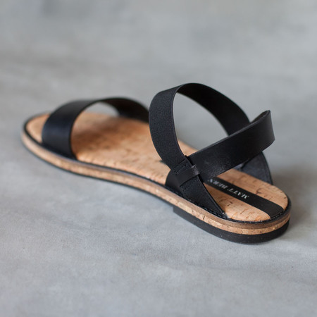 Matt Bernson Fritz Sandals in Black