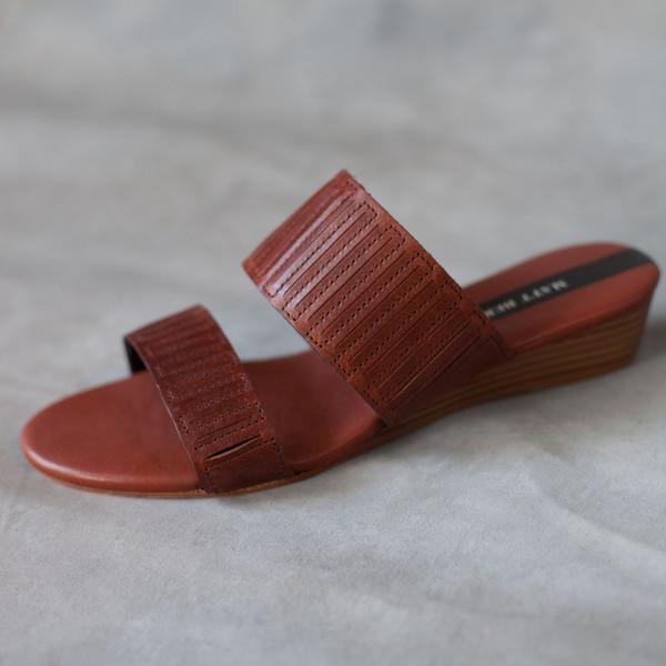Matt Bernson Merit Sandals in Bourbon