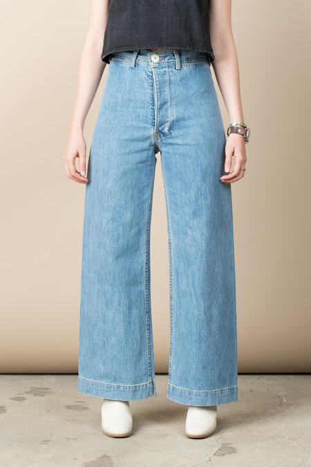 Jesse Kamm Sailor Pant In American Denim
