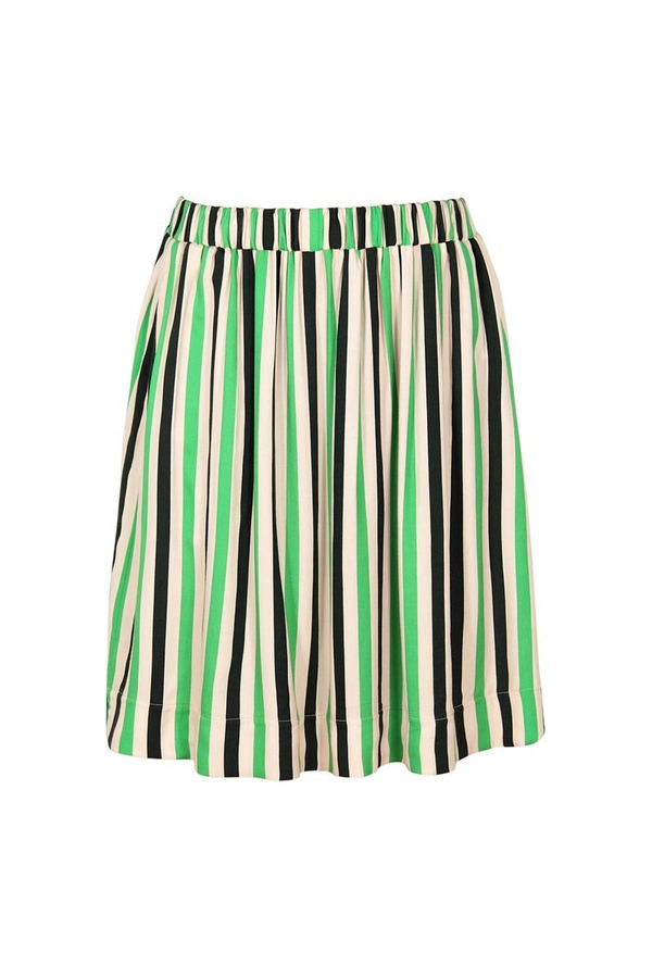 Dusen Dusen Danny Striped Skirt