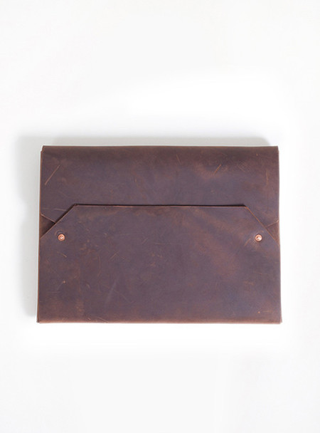 "Sunday Supply Co. Envelope Laptop Case 13"" - Chocolate"