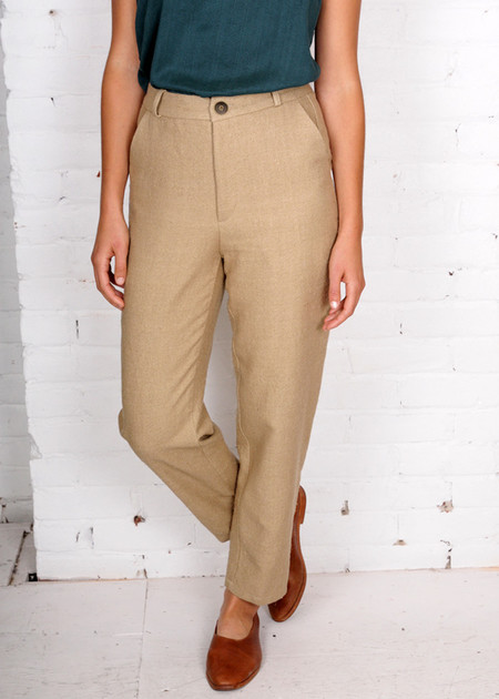 Gravel & Gold Madura Pants - Taupe
