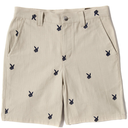 FUCT SSDD DEATH BUNNY CHINO SHORTS - BEIGE