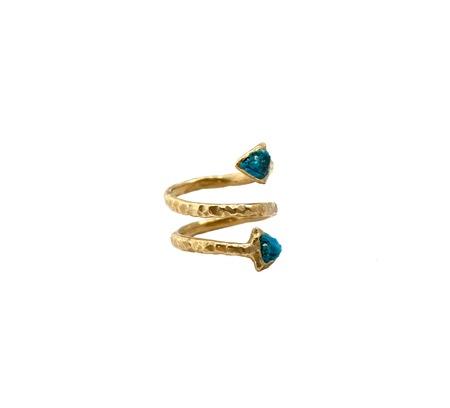 Nettie Kent Jewelry Oasis Ring - Brass