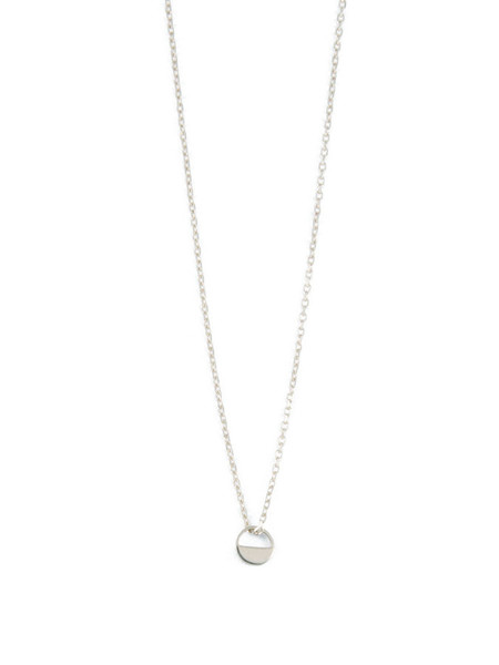 IGWT Breve Necklace / Silver