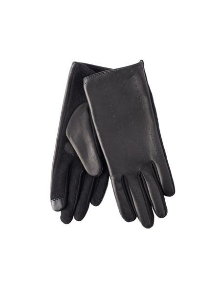 Echo Everyday Leather Gloves - Black