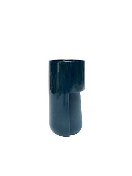 Light + Ladder - Porcelain Cup / Blue
