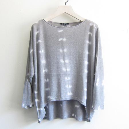 Task tie-dye linen sweater - grey