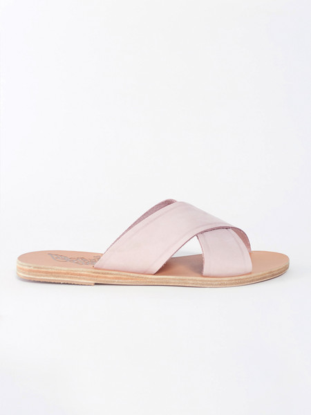Ancient Greek Sandals Thais Nubuck Pink