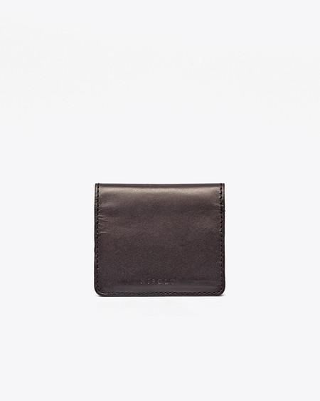 Nisolo Mini Wallet Noir