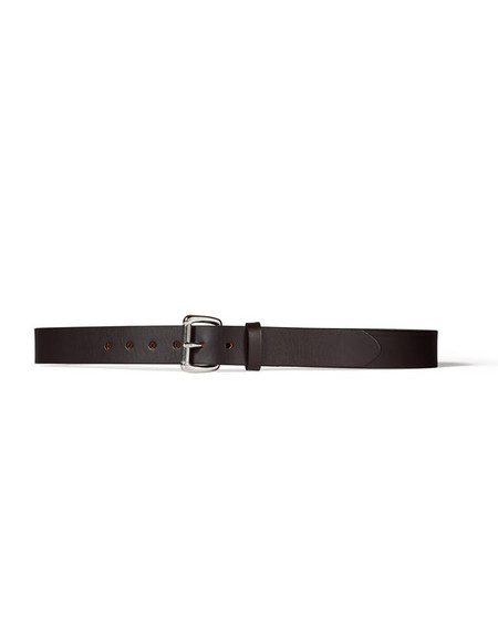 "Filson 1 1/4"" Leather Belt Brown"